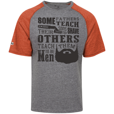 Cheap Beard T Shirts Tri-blend Heathered T-Shirt
