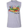 Image of Malaysia Truly Asia T-Shirt G270 Gildan Men's Ultra Cotton Sleeveless T-Shirt