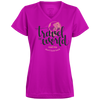 Image of Let's Go Travel The World T-Shirt 1790 Augusta Ladies' Wicking T-Shirt