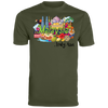 Image of Malaysia Truly Asia T-Shirt 790 Augusta Men's Wicking T-Shirt