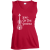 Image of Lord Of The Strings Ladies V-Neck T-Shirt