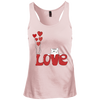Image of I Love My Cat Shirt DT237 District Junior's Racerback Tank Top