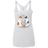 Image of Cool Cat Shirts NL6733 Next Level Ladies' Triblend Racerback Tank