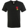 Image of Respect The Chief NL6040 Next Level Men's Triblend V-Neck T-Shirt