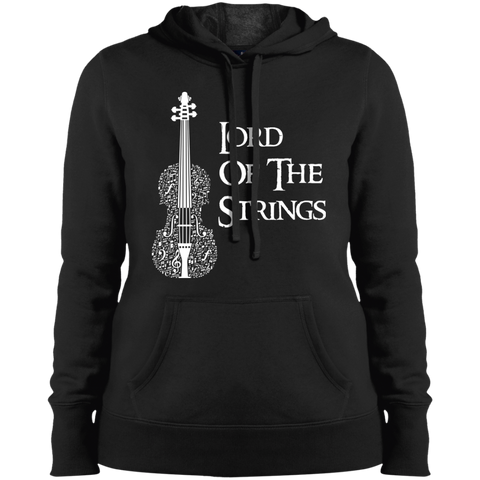 Lord Of The Strings T-Shirt LST254 Sport-Tek Ladies' Pullover Hooded Sweatshirt
