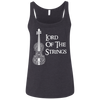 Image of Lord Of The Strings T-Shirt 6488 Bella + Canvas Ladies' Relaxed Jersey Tank