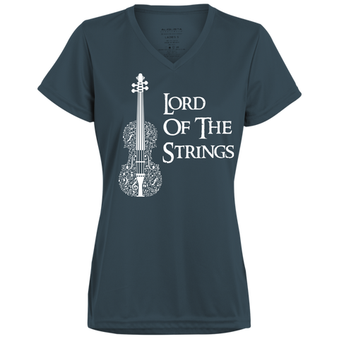 Lord Of The Strings T-Shirt 1790 Augusta Ladies' Wicking T-Shirt