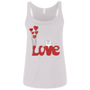 Image of I Love My Cat Shirt 6488 Bella + Canvas Ladies' Relaxed Jersey Tank