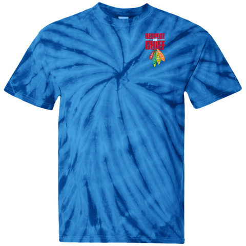 Respect The Chief CD100 100% Cotton Tie Dye T-Shirt