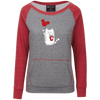 Image of Cute Cat T-Shirt 229344 Holloway Junior's Vintage Terry Fleece Crew