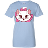 Image of White Cat Shirt G200L Gildan Ladies' 100% Cotton T-Shirt