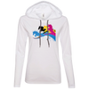 Image of Amazing Horse Shirt 887L Anvil Ladies' LS T-Shirt Hoodie