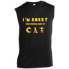 Image of Funny Cat Shirts Online Sleeveless Performance T-Shirt