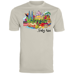Malaysia Truly Asia T-Shirt 790 Augusta Men's Wicking T-Shirt