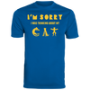 Image of Shirt With Cat Augusta Men's Wicking T-Shirt