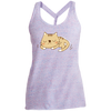 Image of Custom Funny Cat Shirts DM466 District Made Ladies Cosmic Twist Back Tank
