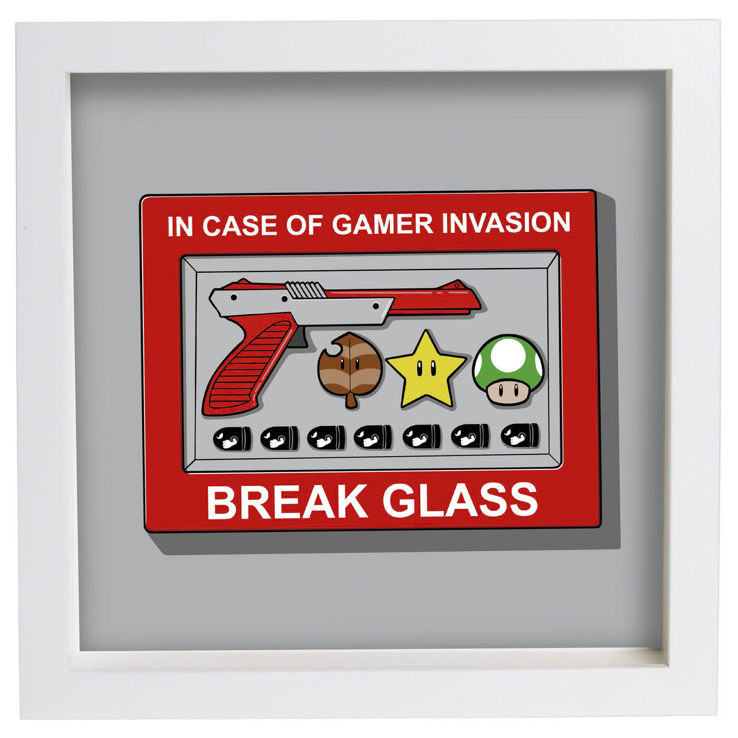In case of Gamer Invasion