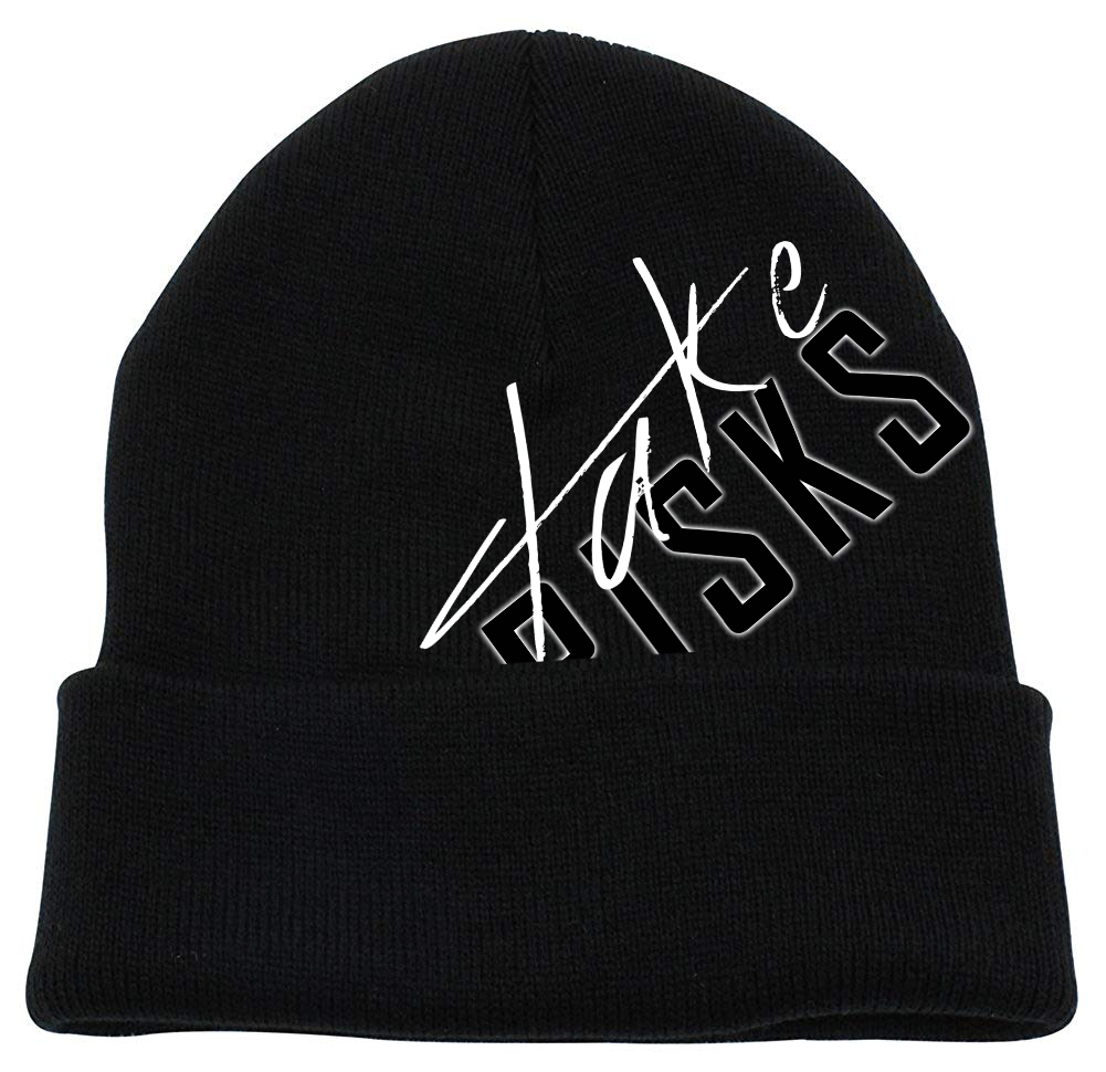 TAKE RISKS | SIGNATURE BEANIE - BLACK