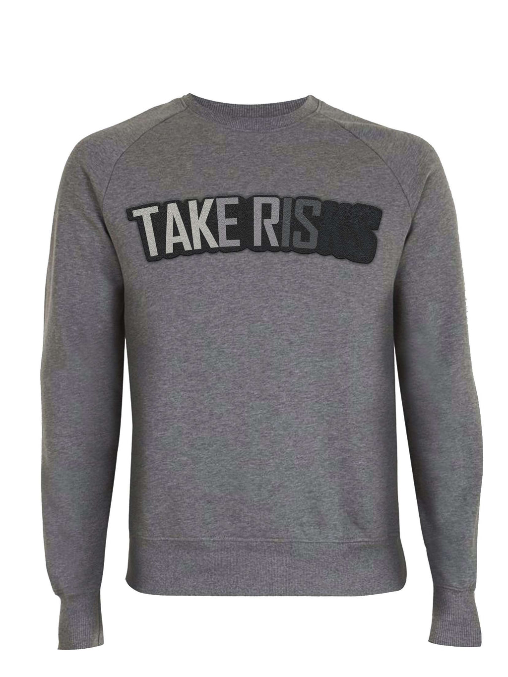 Mid Heather Grey GreyScale Jumper