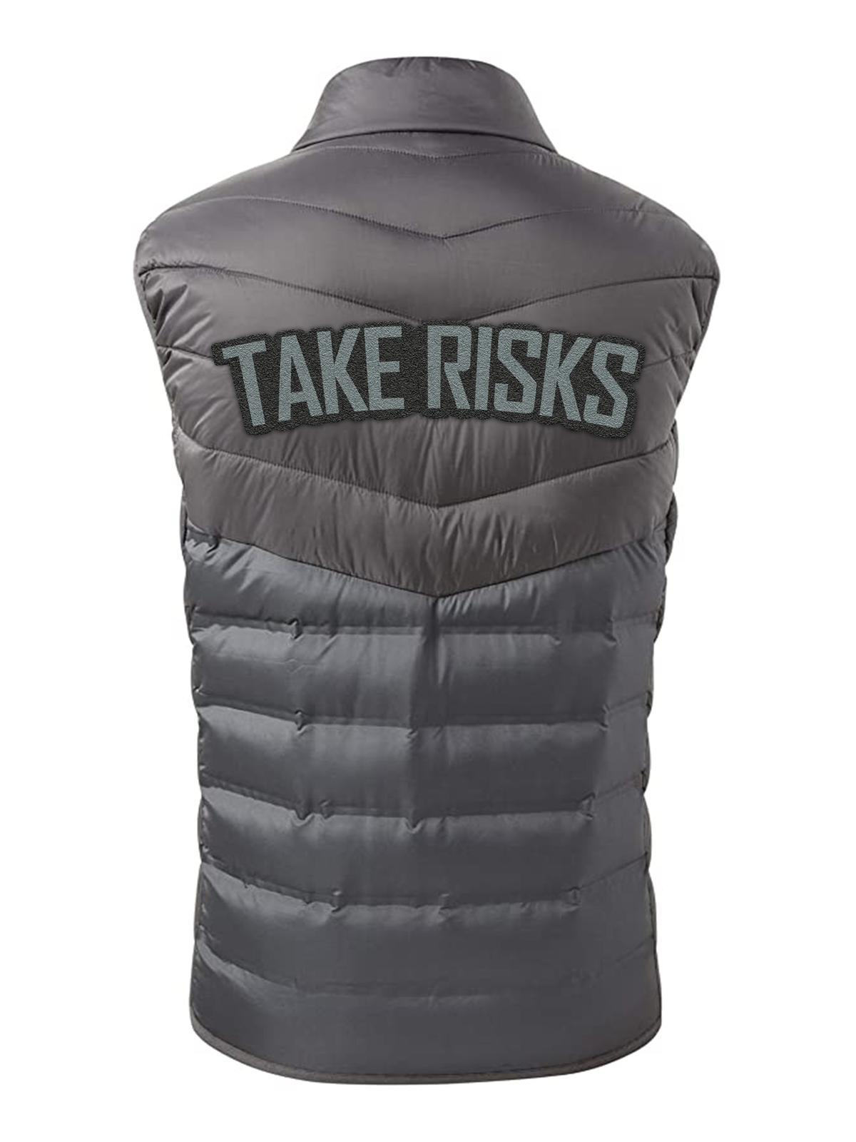 "Take Risks ""Graphite"" Bodywarmer"