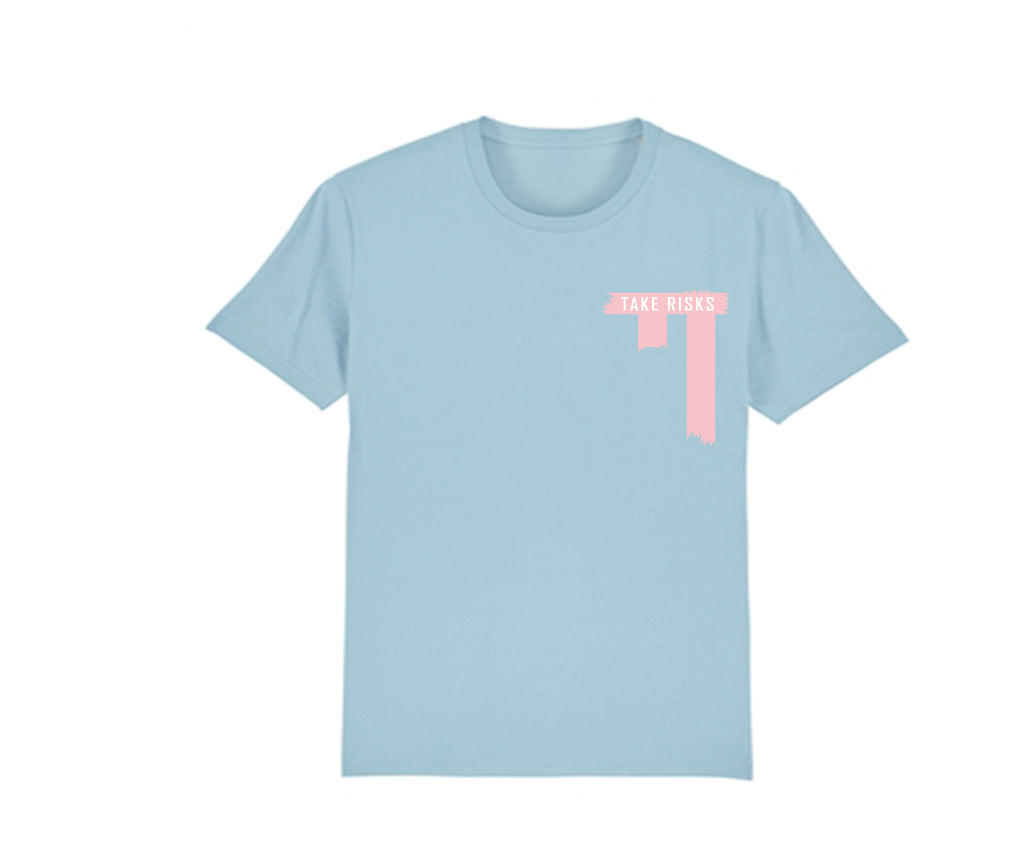 Take Risks (Blue) Serenity T-Shirt