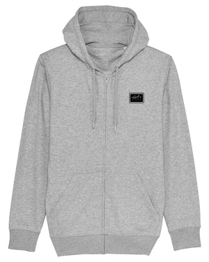TAKE RISKS | GREY SCALE HOODIE - GREY