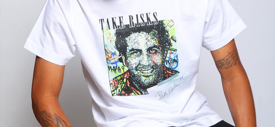TAKE RISKS | PABLO INSPIRED D'LORDS - T SHIRT