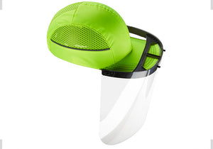 CapShields CV-19 Anti-Fog Face Shield with Clip