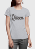 Image of Queen Half Sleeves Women T-shirt - huuloc