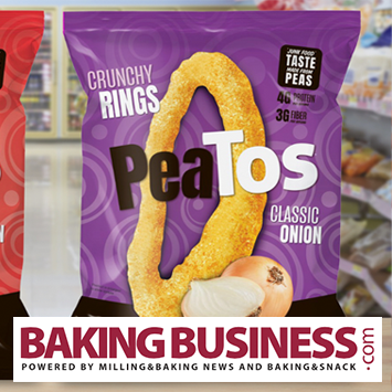 PeaTos parent launching onion-flavored snacks made with peas