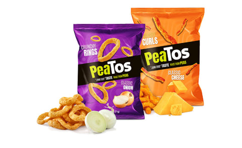 Peatos classic cheese classic onion