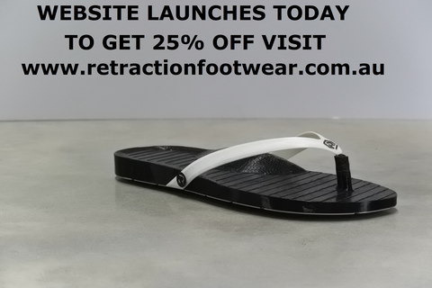 retractionfootwear.com.au is live