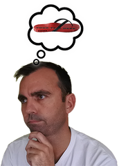 Brett thinking about thongs - Frequently Asked Questions Image