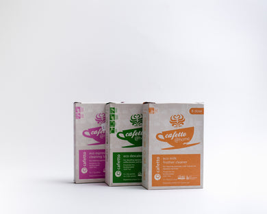 Cafetto @ home -  cleaning tablets