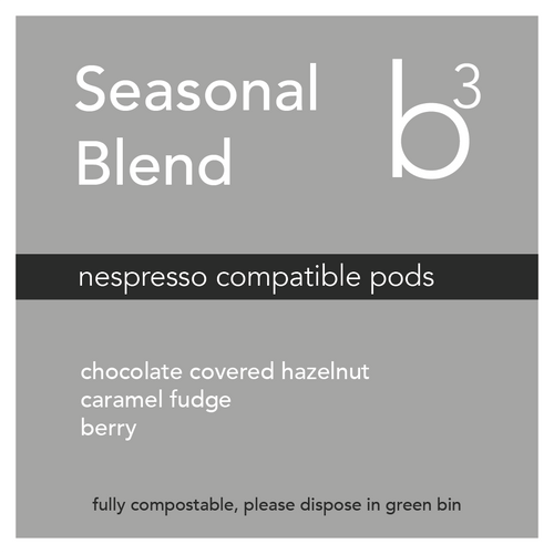 Seasonal Pods (Nespresso Compatible, Compostable, 10 pack)