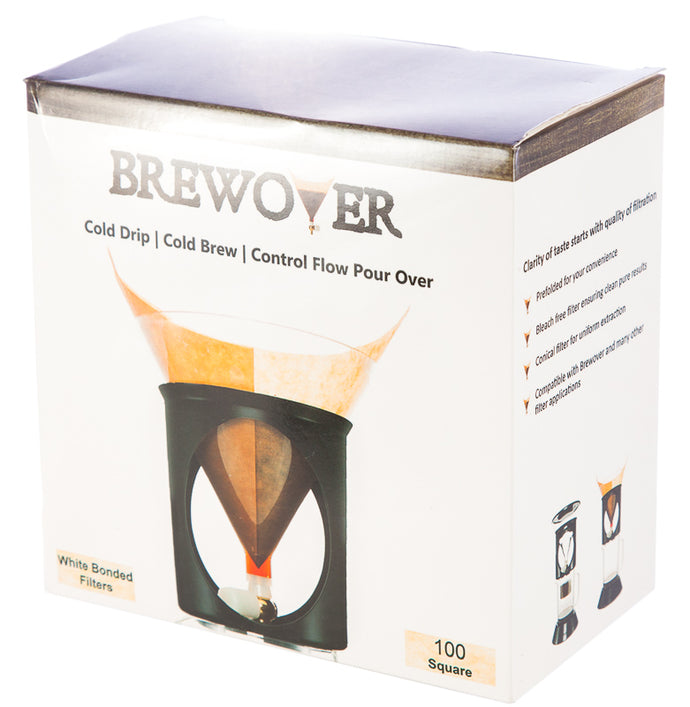 Brewover square filters