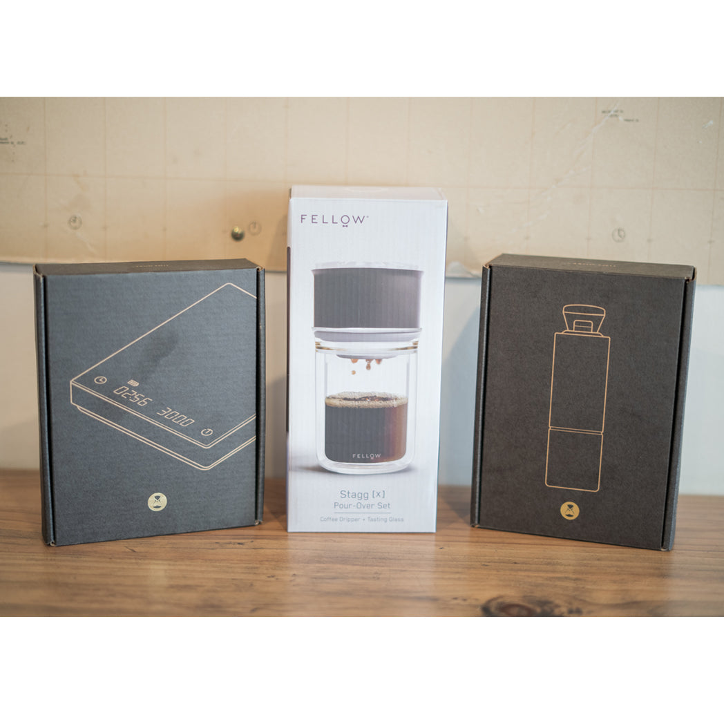 Premium filter brewing kit