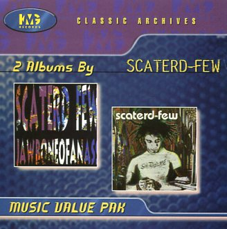 Scaterd Few - Sin Disease/JawboneOfAnAss [CD]