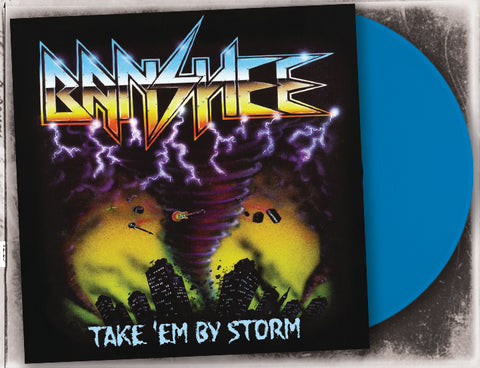Banshee - Take Em By Storm (Blue LP)