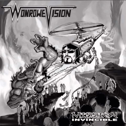 WonRowe Vision - Mission Invincible [CD/DVD]