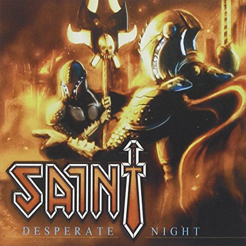 Saint - Desperate Night [CD]