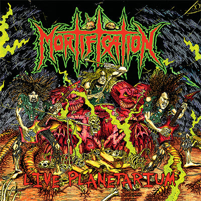 Mortification Live Planetarium (VINYL)