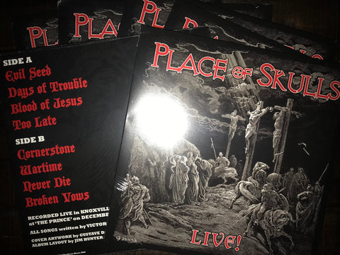 Place Of Skulls - LIVE [LP]
