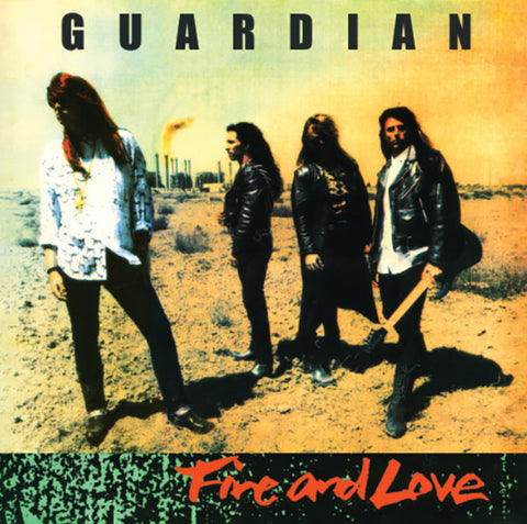 Guardian - Fire & Love [CD]