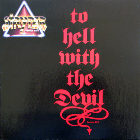 Stryper - To Hell With The Devil [Black LP]