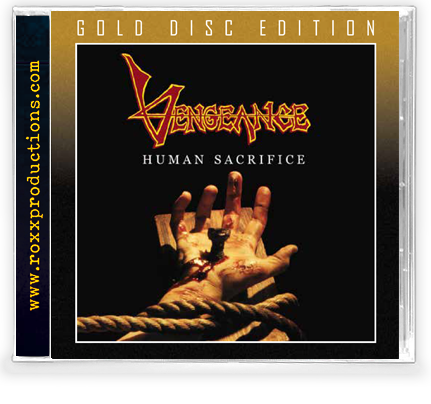Vengeance Rising - Human Sacrifice (Gold CD) 2020