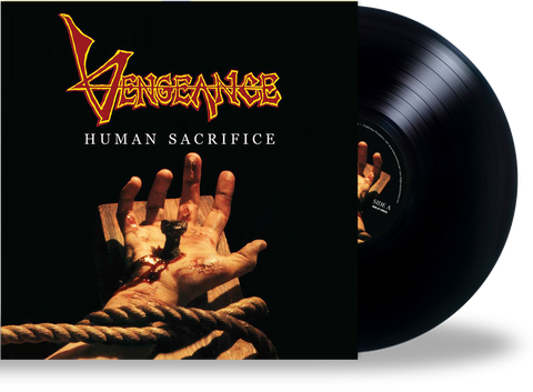 Vengeance Rising - Human Sacrifice (Black LP) 2020