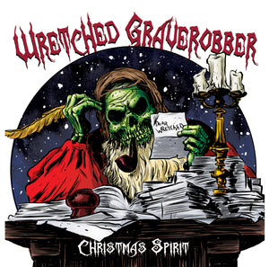 Wretched Graverobber - Christmas Spirit [CD]