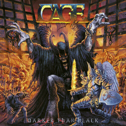 Cage - Darker Than Black [New Vinyl LP] Black, Gatefold LP Jacket, Ltd Ed, 180 G