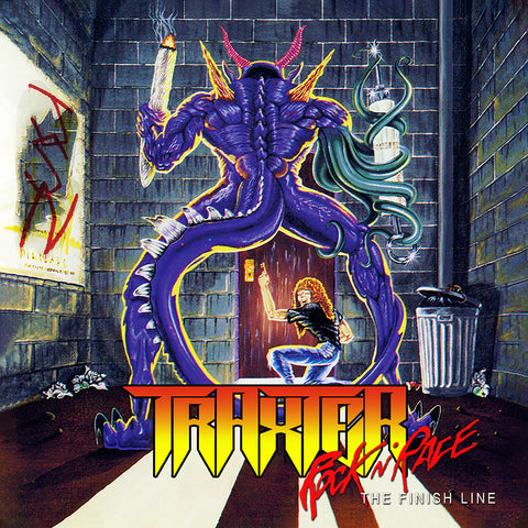 Traxter - Rock n' Race The Finish Line [CD]